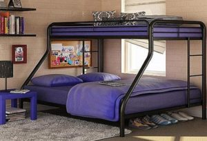 Best Metal Twin Over Full bunk bed