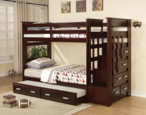 Best Bunk Bed Twin Over Twin With Steps bunk bed