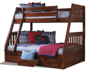 Best Wooden Twin Over Full bunk bed