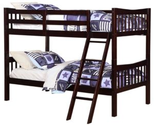 Best Wooden Twin Over Twin bunk bed