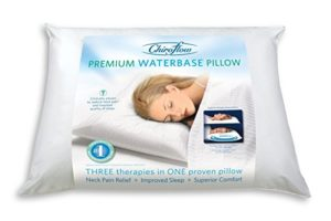 Best Pillow for Neck Pain Chiroflow Premium water pillow best Pillow for neck pain