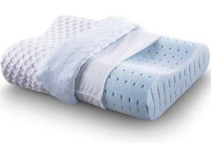 Best Cervical Pillow Cr Sleep Ventilated Memory Foam Contour Pillow with AirCell Technology