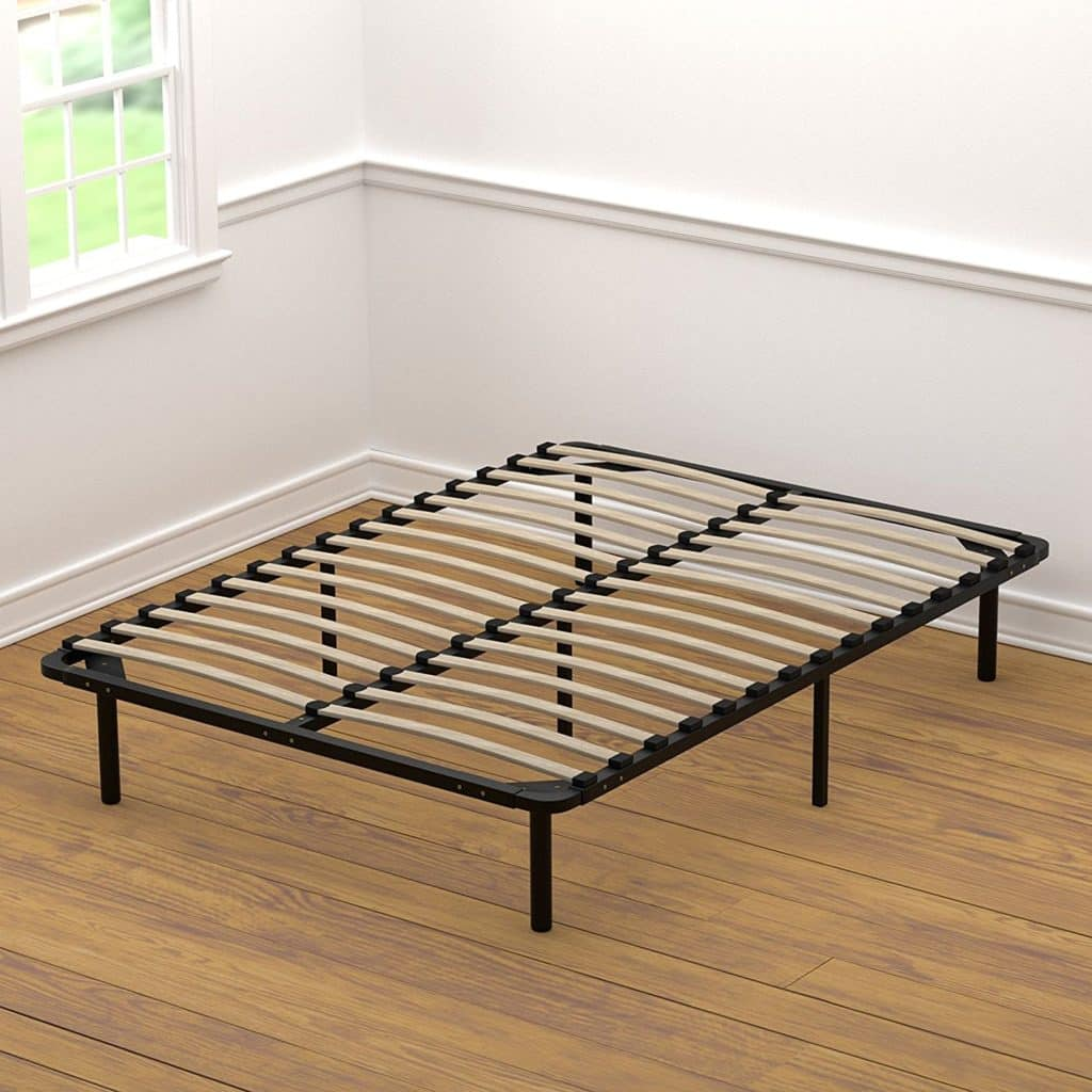 Handy Living Wood Slat Bed Frame Bedroom Furniture Review on better homes and gardens living rooms