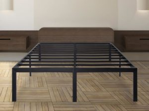 Best Metal Bed Frame SLEEPLACE Heavy Duty Steel Slat Bed Frame