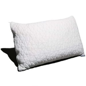 Best Pillow for Neck Pain Shredded Memory Foam Pillow from Coop Home Goods best Pillow for neck pain