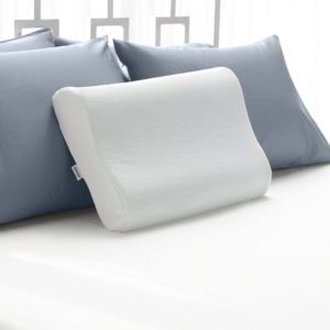 Best Pillow for Neck Pain Sleep Innovations Contour Memory Foam Pillow