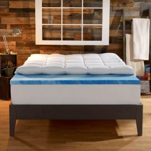Best Memory Foam Mattress Topper Sleep Innovations Dual Layer Mattress Topper