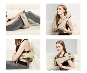 New Five Star FS8801 Shiatsu Neck & Back Massager Best Pillow for Shoulder Pain