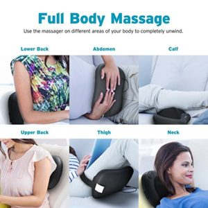 Neck Shiatsu Massager, Massage Pillow for Shoulder Pain