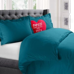 Nestl Bedding Set with two Pillow Shams and Duvet insert