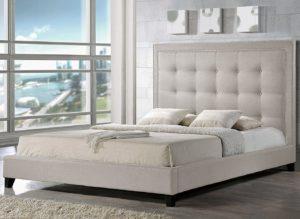 Baxton Studio Hirst best Platform Beds