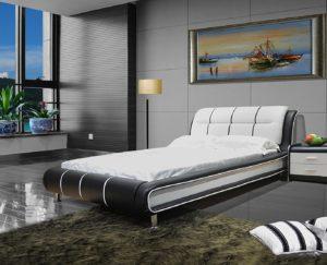 Greatime B1190 Modern Vinyl best Platform Beds