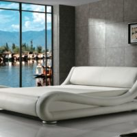 Greatime Contemporary Upholstered Bed Full best platform bed