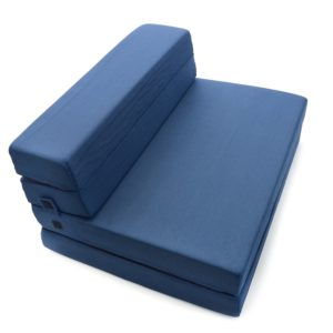 Milliard Tri-Fold Foam Folding Mattress and Sofa Bed for Best Guest Bed