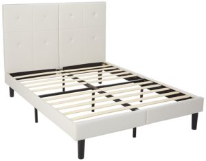 SLEEPLACE 14 Inch Dura Metal Faux Leather