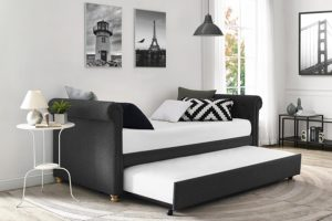 DHP Sophia Upholstered best Daybed and Trundle